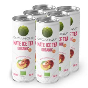 Mate Ice Tea Peach – Low Calorie